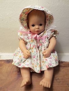 """SUSAN WAKEEN BABY GIRL 12"""" DOLL SIGNED BY SUSAN WAKEEN - PRE-OWNED"""