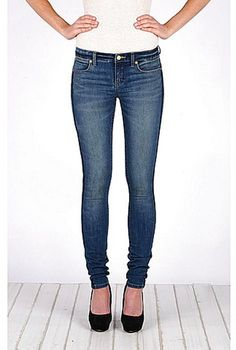 Henry & Belle Embroidered Lila Skinny