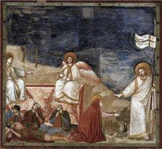 Resurrection (Noli me tangere) - Giotto