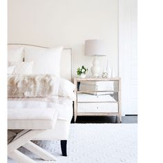 I've been dying to show you our #projectwhitebedroom for months ! The entire…