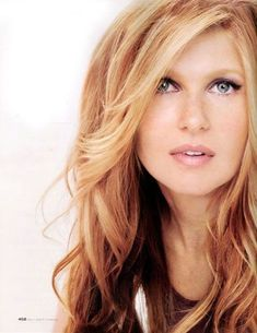 Connie Britton - loved her in Friday Night Lights. Not to mention her hair! Hair Day, New Hair, Strawberry Blonde Hair, Strawberry Blonde Highlights, Strawberry Color, Great Hair, Amazing Hair, Pretty Hairstyles, Men's Hairstyle