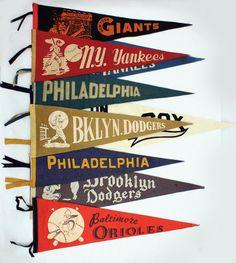 design mini pennants as flavor tags