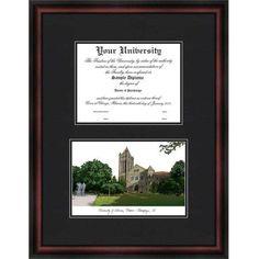 University of Illinois, Urbana - Champaign 8.5 inch x 11 inch Diplomate Diploma Frame