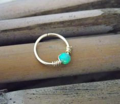 Gold Cartilage Earring tiny opal hoop sterling by sofisjewelryshop Rook And Conch Piercing, Upper Ear Piercing, Helix Piercing Jewelry, Cartilage Hoop, Cartilage Earrings, Ear Piercings, Helix Earrings, Septum Ring, Big Earrings