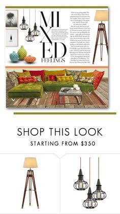 """Couch Potato"" by ceci-alva on Polyvore featuring interior, interiors, interior design, Zuhause, home decor, interior decorating, JCPenney Home und TemaHome"