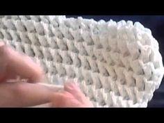 Novo ponto para mantas em croche - YouTube