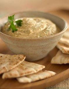 Fish and Veggies: Hummus