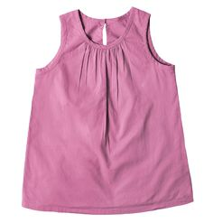 the picnic top - Only from Primary - Solid color kids clothes - No logos, slogans, or sequins - All under $25