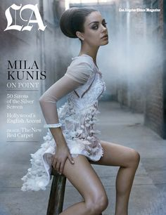 I want to hug whoever styles Mila Kunis. They are genius and she always looks stunning.