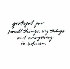 Always stay grateful