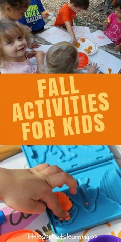 FALL ACTIVITIES FOR KIDS. Are you searching for things to keep your kids busy for fall? You can either keep them busy or they'll keep you busy! There are lots of awesome, cheap fall activities for kids. Check these out.