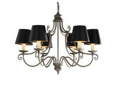 Decorative chandeliers to give a royal touch to the decor. Price: £504.00
