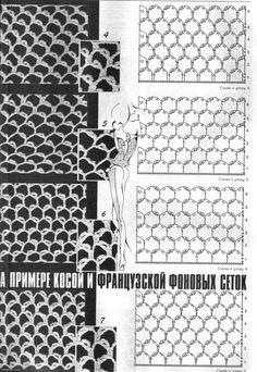 TRICO y CROCHET-madona-mía: PUNTOS DE UNIÓN DE PIEZAS para crochet Ruso o Irlandés con patrones