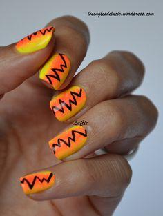 Nail art – arc électrique