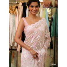 Buy Sonam Net Fabric Bollywood Replica Saree - Dealtz.com