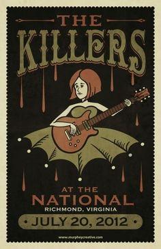 The Killers :: @ The National :: Richmond, VA #WOWmusic