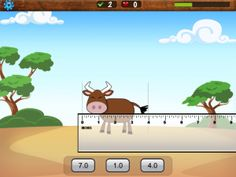iPad Measurement Tools iPad Measurement Tools -> I've shared some great free apps for turning your iPad into a measurement tool: protractor, reading a ruler. Measure Length – Tiny Chicken by TapToLearn is another app that's perfect for teaching students h Math Classroom, Kindergarten Math, Teaching Math, Future Classroom, Teaching Reading, Teaching Tools, Teaching Ideas, Learning, Math For Kids