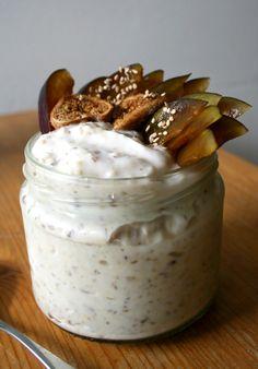 Hirssituorepuuro lupiinijugurtista Pudding, Desserts, Food, Tailgate Desserts, Deserts, Custard Pudding, Essen, Puddings, Postres