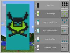 Best Minecraft Banners, Cool Banner Designs Minecraft, Minecraft Banner Patterns, Minecraft Plans, Minecraft House Designs, Minecraft Decorations, Amazing Minecraft, Minecraft Videos, Minecraft Tutorial