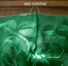 How to French seam a dart