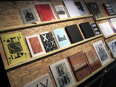CODEX by MANYSTUFF, via Flickr.  Love the makeshift bookshelf.
