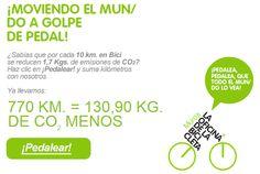 Beneficios ambientales de ir en bici
