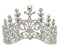 JESMING® Bridal Stylish Shining Rhinestone Crown Luxury Diamond Large Headband Tiara JESMING http://www.amazon.com/dp/B0132V6R7I/ref=cm_sw_r_pi_dp_EyI7vb0P89FQV