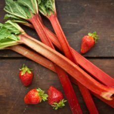 Strawberry-Rhubarb Fool