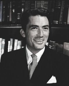 """salonicle: """" Gregory Peck for Silver Screen magazine """""""