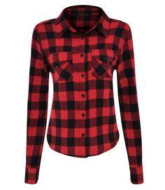 Camisa Feminina Xadrez em Flanela - Lojas Renner