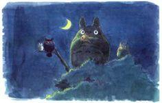 Amazon.com - My Neighbor Totoro - Silent Night - Miyasaki 11x17 Poster - Prints