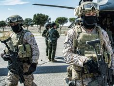 Spanish Special Forces Rapid Reaction Force conducting a hostage exercise in Alecante, Spain. March 9, 2015.
