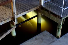 Light reflects under Pier Victoria Australia, Lakes, Entryway Tables, Photography, Furniture, Home Decor, Photograph, Decoration Home, Room Decor