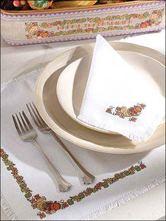 Cross-Stitch - Special Occasions - Autumn Cross-stitch Patterns - Thanksgiving Decor - #FX00162