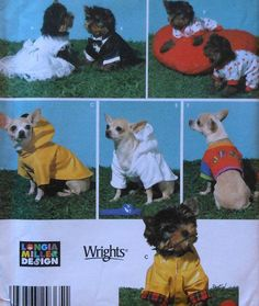 Extra Small Dog Clothes Sewing Pattern