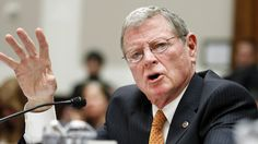 "Sen. Jim Inhofe (R-OK) donned some long johns on Monday to battle the ""polar vortex"" and use this week's cold weather as evidence that the U.S. does not need to address global warming.   ""There's a concerted effort of people to believe that global warming is taking place, that we're all going to die and all of that,"" he said on the Senate floor. ""At the same time, the evidence out there is just-- it's almost laughable.""  Inhofe prepared for the unusually cold weather by wearing long johns…"
