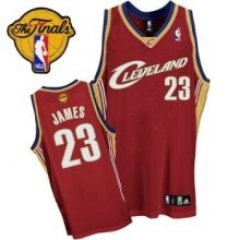 cavaliers 23 lebron james red the finals patch stitched nba jersey