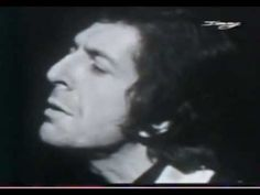 Leonard Cohen - The Partisan 1969 in French TV - This is a traditional song not written by LC