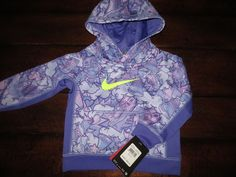 6b05f51b83 new #nike #toddler #girl's 2 / 2t therma - fit jacket purple hoodie $44 tag  from $21.5
