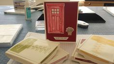 Card for Open House  #stampinup #reddoorcrafters #cards #athomewithyou #athome #inkyfingers #newcatalog #openhouse #desertliving #visit29palms