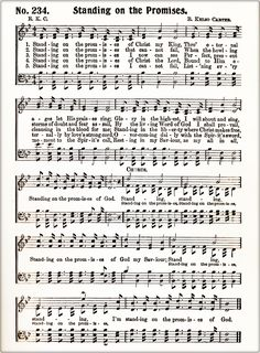 Standing On The Promises (1886) | Gospel Hymns on Patreon