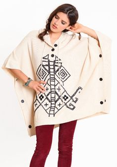 i just love ponchos! $101.00