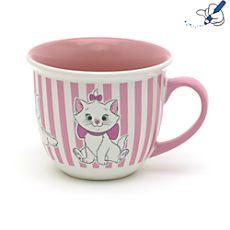 DISNEY Mug à rayures Marie Disney Coffee Mugs, Disney Mugs, Cute Coffee Mugs, Tea Mugs, Coffee Cups, Disney Kitchen, Disney Dining, Disney Tassen, Disney Princess Mugs