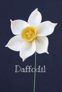 Daffodil (Narcissus) Felt Flowers - Build Your Own Bouquet - by TheFeltFlorist on Etsy cool design to use for spring flower display or st . davids day buttonhole accessory nice gifts for mum Faux Flowers, Diy Flowers, Fabric Flowers, Paper Flowers, Yellow Flowers, Felt Diy, Felt Crafts, Easter Crafts, Handmade Felt