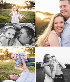 Xanthe Photography { for life }: Love and light - North Brisbane Family Photography - Outdoor Session - Golden Hour - Family of Four