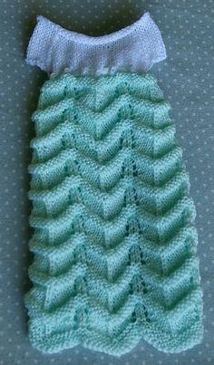 Ravelry: Spring Mint Gown pattern by MaryMGlynn