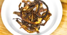 These Paleo Crispy Shallots are great on burgers or seafood and couldn't be easier to make, just 3 ingredients and a little time is all it takes! Free Paleo Recipes, Diet Recipes, Grain Free, Dairy Free, Gluten Free, Meal Prep Menu, Crispy Shallots, Appetizer Dips, Paleo Diet