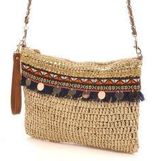 cache cache crochet clutch bag , , cache cache crochet clutch bag Sac à mains cache cache crochet clutch bag. Diy Bags And Purses Patterns, Diy Bags Purses, Diy Purse, Crochet Clutch Bags, Bag Crochet, Crochet Purses, Best Leather Wallet, Boho Bags, Simple Bags