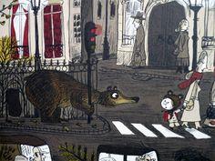 Benjamin Chaud.  http://imagiervagabond.fr/illustrateurs/