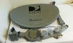 Directv SWM Slimline SL5 Dish KIT Power Splitter Satellite LNB HD TV 5 Sat